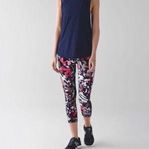 Lululemon Crop Leggings Multi Color Size 4